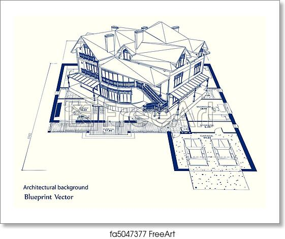 Free art print of architecture blueprint of a house vector free art print of architecture blueprint of a house vector malvernweather Gallery