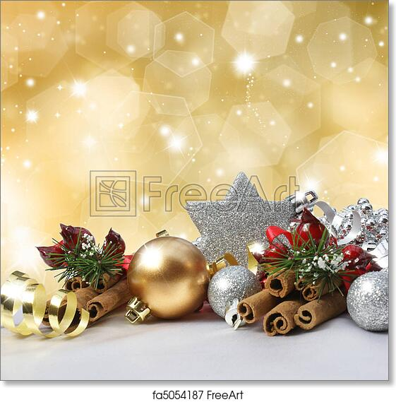 Christmas Background Images Free.Free Art Print Of Christmas Background