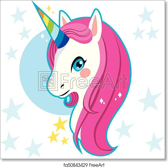 photo relating to Printable Unicorn Head referred to as Cost-free artwork print of Unicorn Thoughts