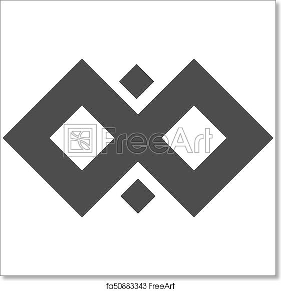 Free Art Print Of Infinity Symbol Loop Figure 8 Icon Eternity Logo
