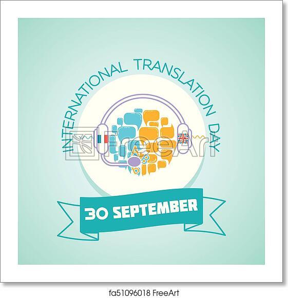 Free art print of 30 september International Translation Day