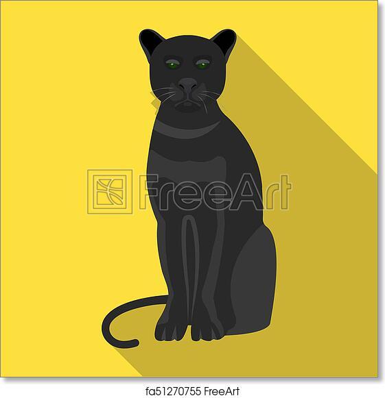 Free Art Print Of Panther Predatory Animal Pantera Wild Cat
