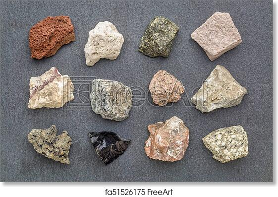 Free Art Print Of Igneous Rock Geology Collection Igneous Rock
