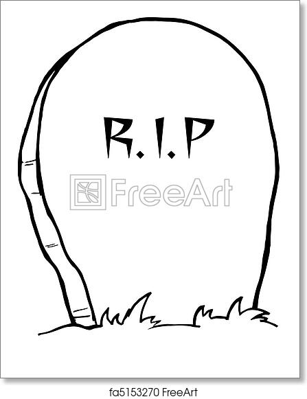 picture regarding Tombstone Printable named Totally free artwork print of Tombstone