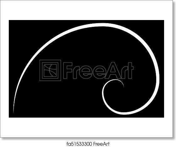 free art print of golden ratio cover template template design