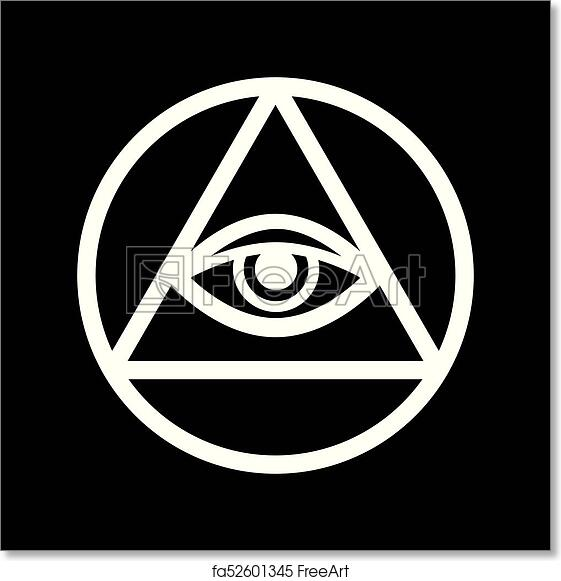 Free Art Print Of All Seeing Eye The Eye Of Providence All Seeing