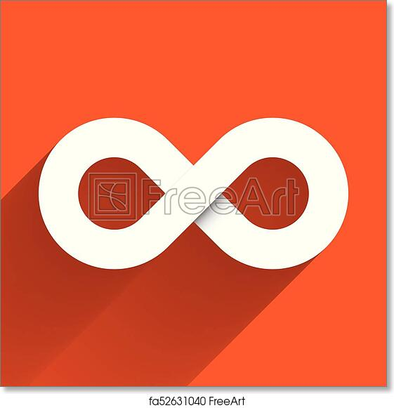 Free Art Print Of Infinity Symbol Icon Concept Of Infinite