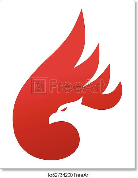 Enjoyable Free Art Print Of Phoenix Logo Concept Interior Design Ideas Inesswwsoteloinfo