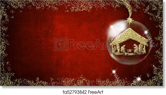 Christmas Backgrounds.Free Art Print Of Nativity Scene Christmas Backgrounds Cards