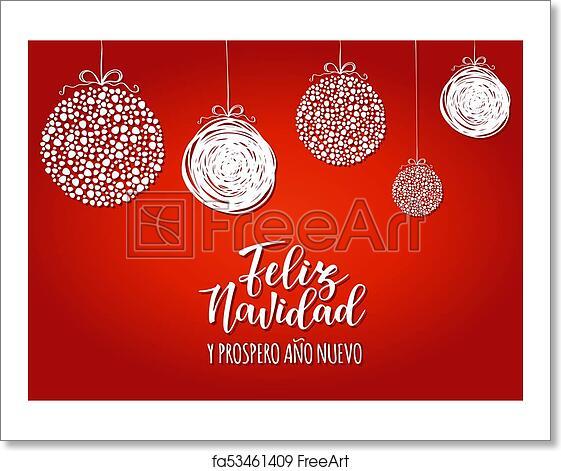 Free art print of feliz navidad spanish typography lettering free art print of feliz navidad spanish typography lettering m4hsunfo