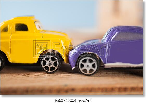 Free Art Print Of Accident With Toy Car Accident With Toy Car