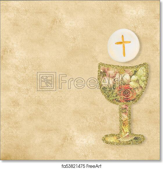 Free Art Print Of First Holy Communion Cards First Holy Communion