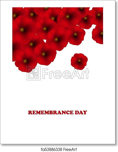Free Art Print Of Remembrance Day Anzac Day Veterans Day