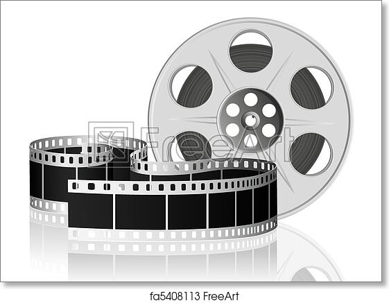 Free Art Print Of Twisted Film For Movie Vector Illustration