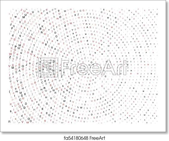 Free art print of Computer Virus  Corrupted Programming Code  Hackers  Activity Computer Script  Vector Illustration