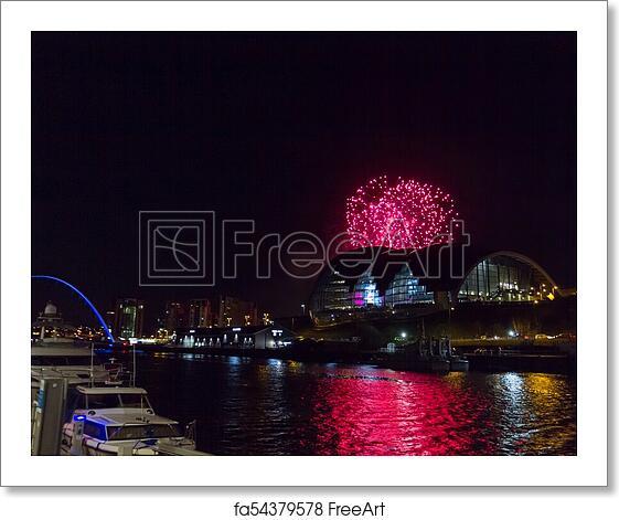 new year fireworks newcastle