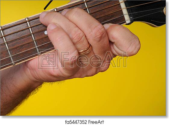 Free art print of G7 Guitar Chord. Finger position for a G7 guitar ...
