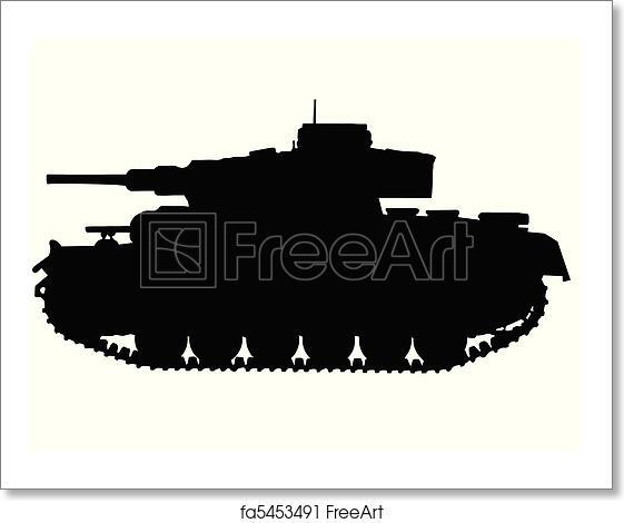 Free art print of WW2 - TANKS