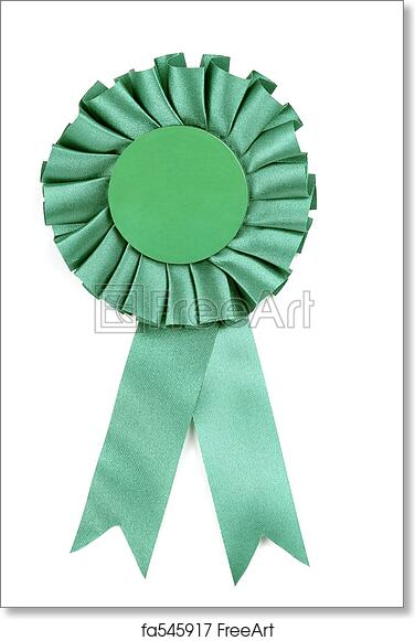 Free art print of Green Ribbon