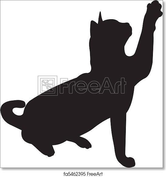 C Cat Art Print Home Decor Wall Art Poster
