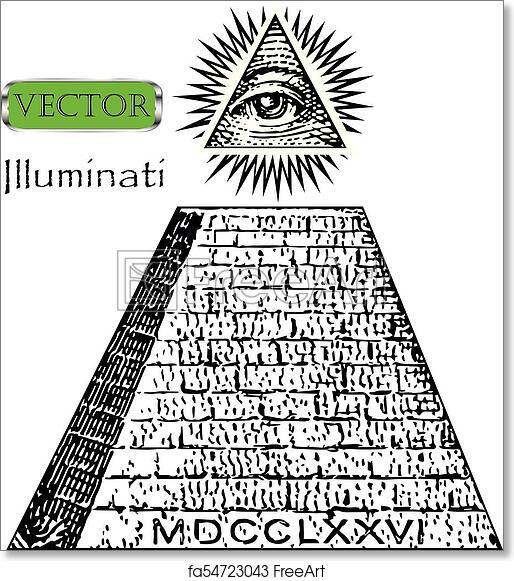 Free Art Print Of One Dollar Pyramid New World Order Illuminati