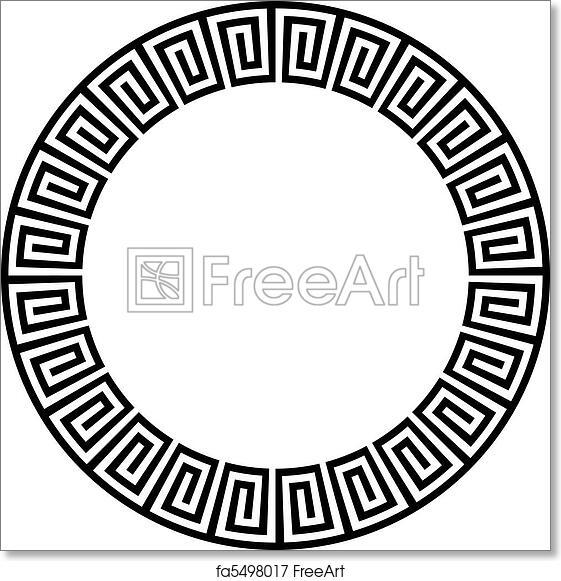 Free Art Print Of Circular Ancient Aztec Goemetric Or Circular