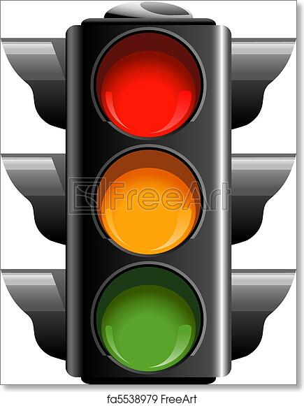 It is an image of Stoplight Printable in colouring