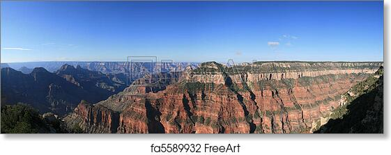 Free Art Print Of Grand Canyon Panorama