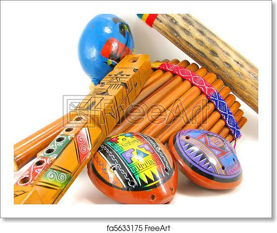 Latin American Musical Instruments