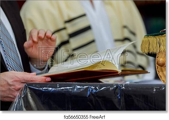 Free Art Print Of Prayer Shawl Tallit Jewish Religious Symbol And