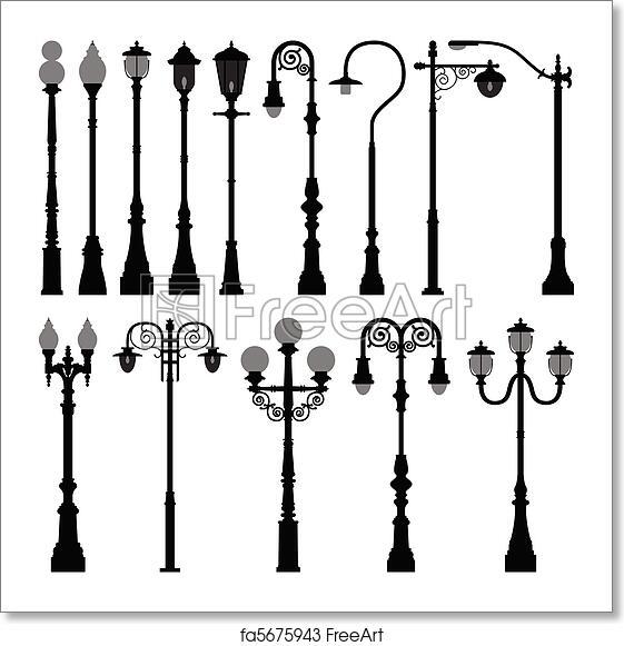 Free Art Print Of Lamp Post Lamppost Street Light