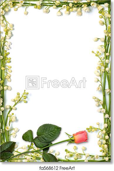 free art print of love letter background love letter frame made