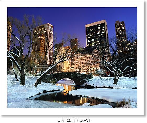 Manhattan New York New York: Free Art Print Of New York City Manhattan Central Park