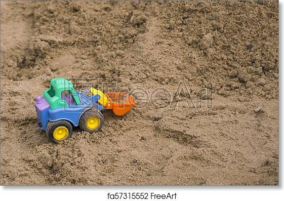 Free art print of Miniature of plastic toy loader