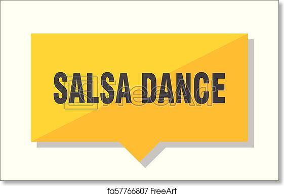 photo regarding Price Tag Printable referred to as Cost-free artwork print of Salsa dance value tag