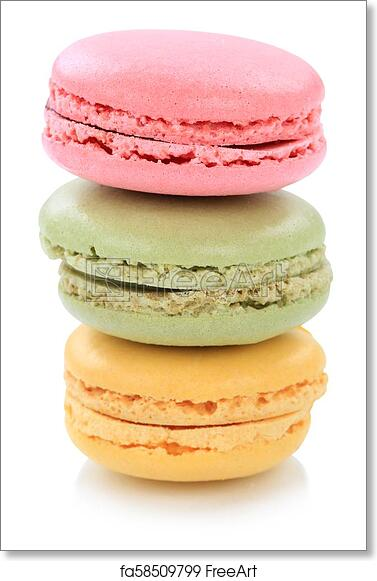 "Poster 24/"" x 36/"" Sweet Macarons"
