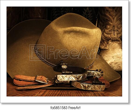 Free art print of Cowboy Accessories. Cowboy or western themed image ... a995fbeb0e52