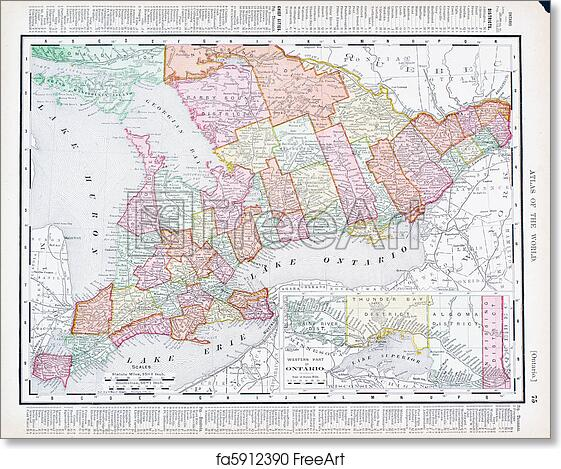 British Columbia /& Alberta BARTHOLOMEW 1952 old vintage map Railways CANADA