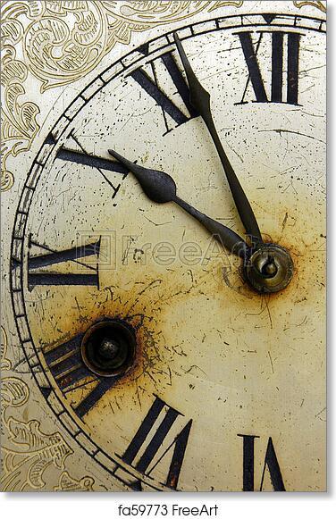 Free art print of Old Clock