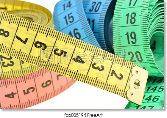Free Art Print Of Tailor Measuring Tape Measuring Tape Of The