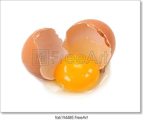 Free Art Print Of Broken Egg