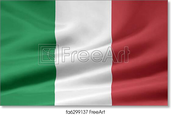 photo regarding Printable Italy Flag named Totally free artwork print of Flag of Italy
