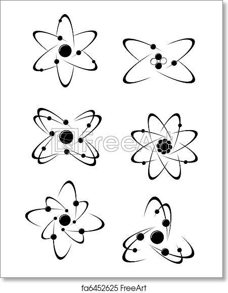 Free art print of Science symbols. Science symbols and