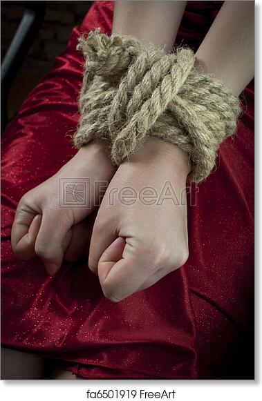 Hands tied up images