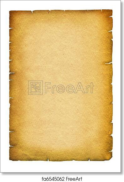 picture about Scroll Paper Printable titled No cost artwork print of Previous paper texture. Antique record scroll for phrases upon white