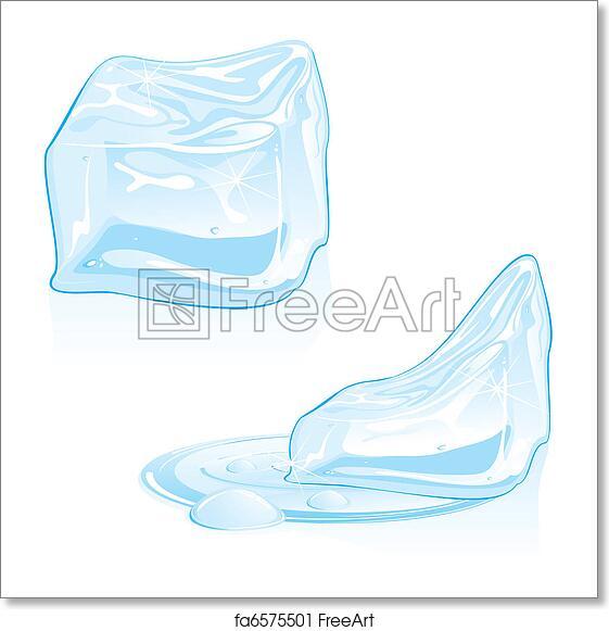 Free Art Print Of Ice Cubes
