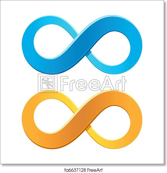 Free Art Print Of Infinity Symbol Vector Illustration Of An