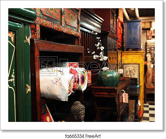 Free art print of Asian antique furniture store - Free Art Print Of Asian Antique Furniture Store