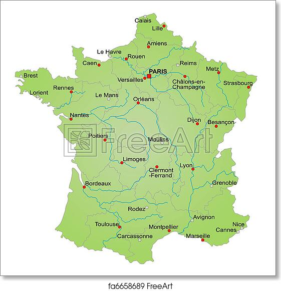 Map Of France Trackidsp 006.Free Map Of France Free Map Of France Map Of South Uk