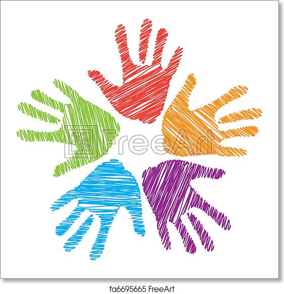 Free Art Print Of Unity Sign A Sign Of Friendship Unity Support